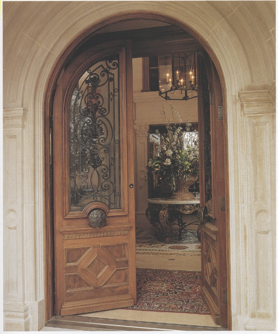Mahagony door mahogany solid wood front door double for Mahogany entry doors